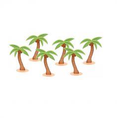 6 Palmiers Décoratifs