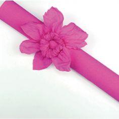 Rouleau papier crépon 10m – Rose Fuchsia