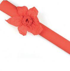 Rouleau papier crépon 10m – Rouge