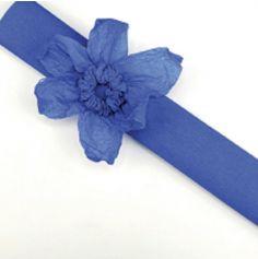 Rouleau papier crépon 10m – Bleu Foncé