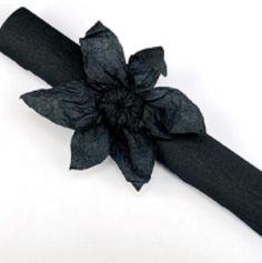 Rouleau papier crépon 10m – Noir