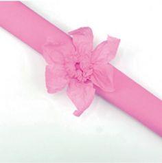 Rouleau papier crépon 10m – Rose
