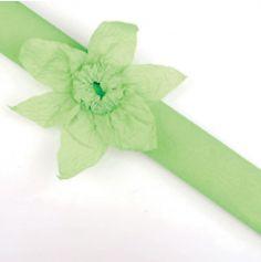 Rouleau papier crépon 10m – Vert Anis