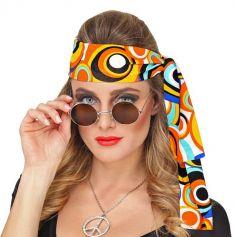 Bandeau Hippie Bubbles 70's