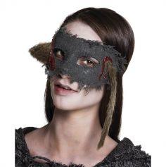 Masque - loup rat ensanglanté