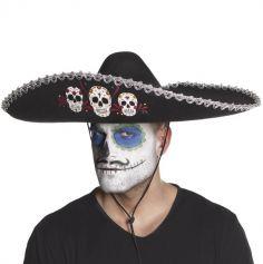 """Sombrero Adulte - Day of The Dead """"Cavalera"""""""