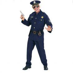 Déguisement Homme Policier Américain - Taille au Choix