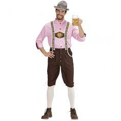 Déguisement Homme - Bavarois Oktoberfest - Taille au Choix