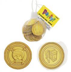 Sachet de 30 pièces d'or en plastique