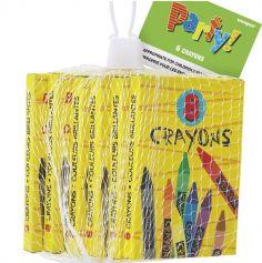 Joujoux - 6 boites de 8 crayons