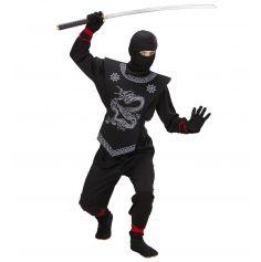 Déguisement Ninja Noir Enfant