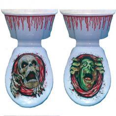 Décoration WC Halloween - Modèle au Choix