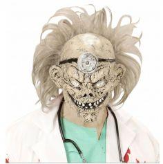 Masque de Zombie Docteur avec Perruque