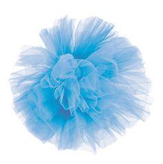 Pompon de Tulle - Bleu