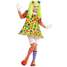 Déguisement de Clown Farfelue Femme - Taille au Choix