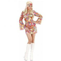 Déguisement Hippie Girl Femme - Taille au Choix