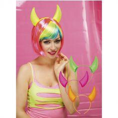 Serre-tête diable flashie - Coloris au choix