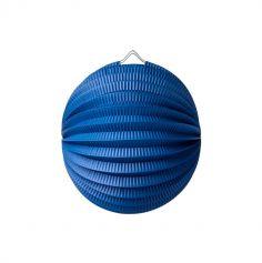 Lampion Boule ø20cm - Bleu marine