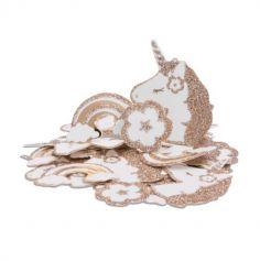 """Sachet de 100 confettis de table """"Jolie Licorne"""""""