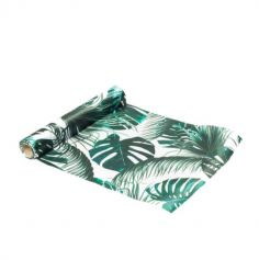 Chemin de Table en satin - Tropical