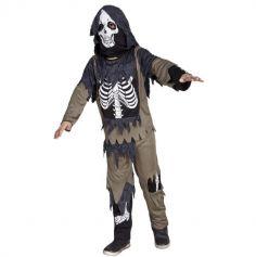 Déguisement Garçon - Squelette Zombie - Taille au Choix