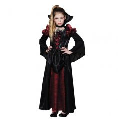 Déguisement Fille - Reine des Vampires - Taille au Choix