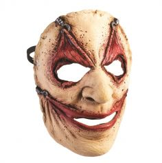 Masque Latex Zombie Peau Retournée - Adulte