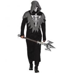 Déguisement de squelette de la mort pour homme