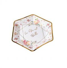 assiettes-aquarelle-carton-vaisselle-jetable-decoration-table | jourdefete.com