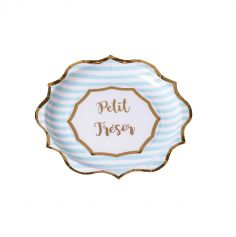 assiettes-petit-tresor-bapteme-baby-shower | jourdefete.com