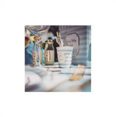 8 Gobelets en carton - Petit Trésor