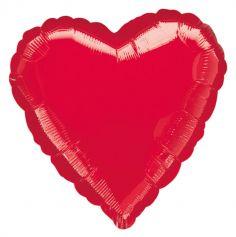 Ballon à Hélium Géant - Coeur Rouge