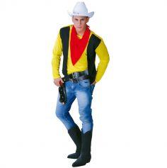 Déguisement Cow-Boy Lucky Luke Homme - Taille Unique