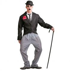 Déguisement Charlie Chaplin Homme - Taille Unique