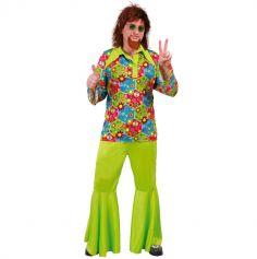 Déguisement Hippie Vert Homme