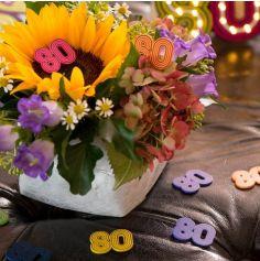 10 Confettis de Table - Back to the 80's