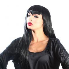 Perruque Colorée Maleficia Femme Noire