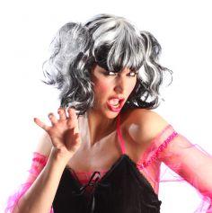 Perruque de Femme Gothique Halloween