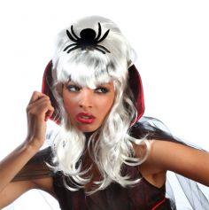 Perruque de Reine des Araignées Halloween