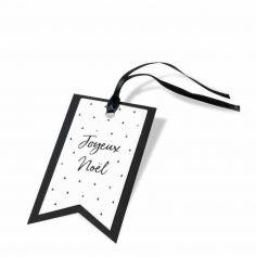 """8 Etiquettes pour Cadeaux """"Joyeux Noël"""" - Collection Graphique"""