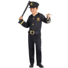 Déguisement Enfant Policier - Taille au choix