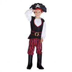 Déguisement de Jack le Pirate Garçon - Taille au Choix