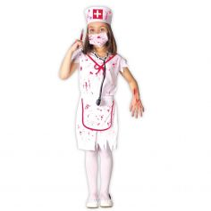 Déguisement d'Infirmière Zombie Enfant - Taille au Choix