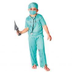 Déguisement de Chirurgien Zombie Enfant - Taille au Choix