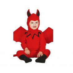Déguisement Démon de l'Enfer Bébé - Taille au Choix