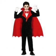 Déguisement de Comte Vampire Garçon - Taille au Choix