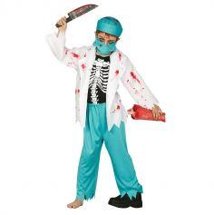 Déguisement Docteur Zombie Enfant - Taille au Choix