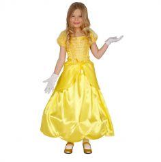 Déguisement Princesse Jaune Fille - Taille au Choix