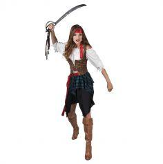 Déguisement de Femme Pirate - Taille au Choix