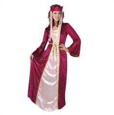 Déguisement Dame Médiévale Femme - Taille au Choix